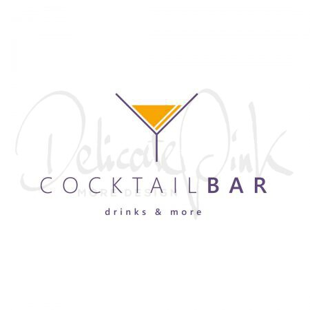 Logo für Bar, Snacks, Snackbar, Getränke, Cocktailbar, Cocktail, Cocktails, Trinken, Pub, Club, Drink, Drinks, Lounge, Gastronomie, Barkeeper, Aperitif, Logo-Design, Logo-Template