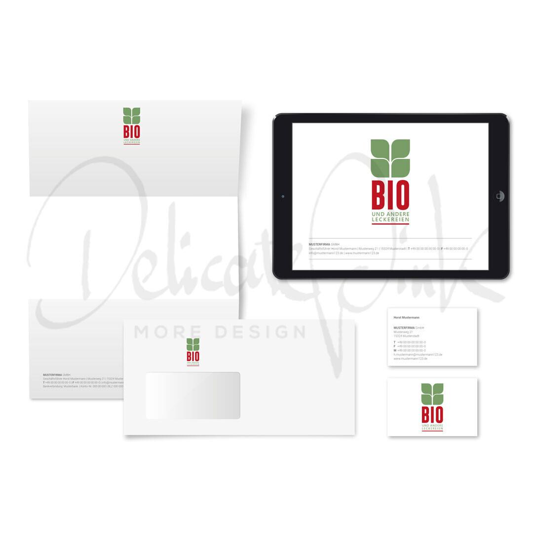 Corporate-Design für Biomarkt, Markt, Bioladen, Biobetrieb, Bio, Gemüseladen, Obstladen, Bioprodukte, Erzeuger, organisch, gesund, Ernährung, Laden, Gemüse, Obst, Vegetarisch, Vegan, grün, frisch